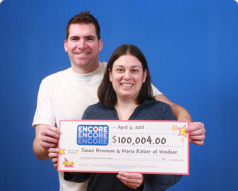 RECENT Encore WINNERS - Jason Brennan & Maria Katzer