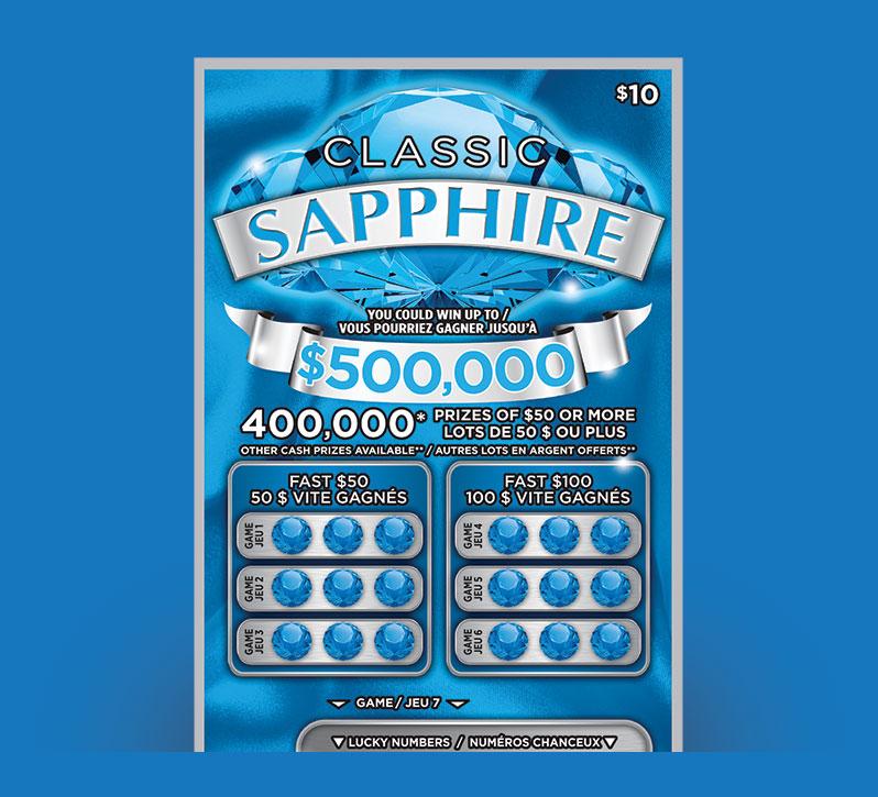 Classic Sapphire ticket