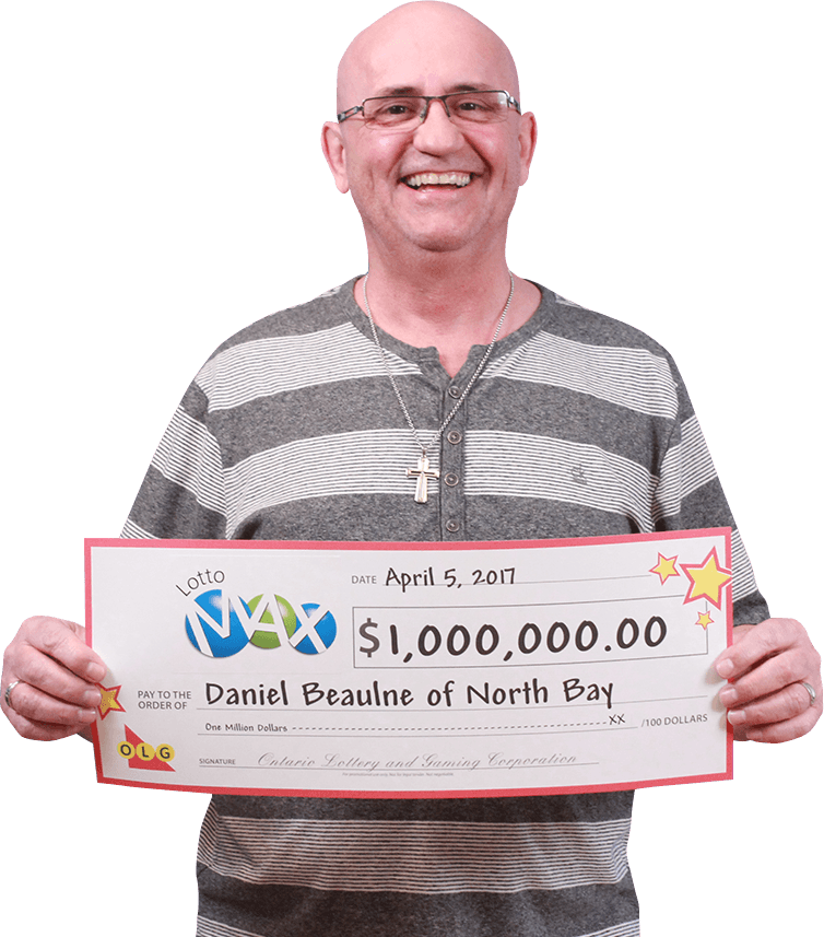 RECENT Lotto Max WINNER - Daniel Beaulne