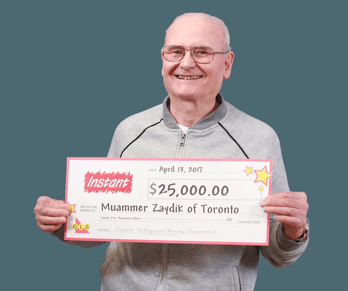 RECENT Instant WINNER - Muammer Zaydik
