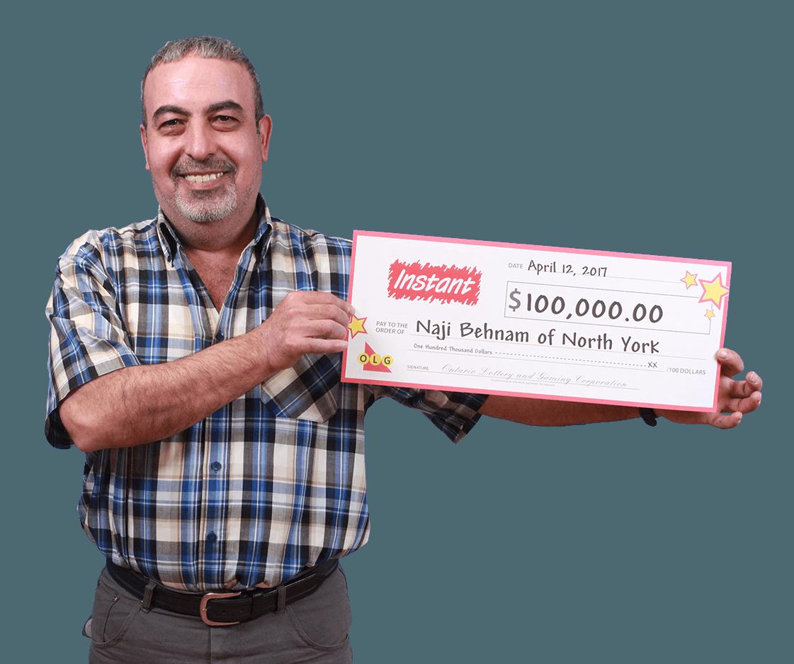 RECENT Instant WINNER - Naji Behnam