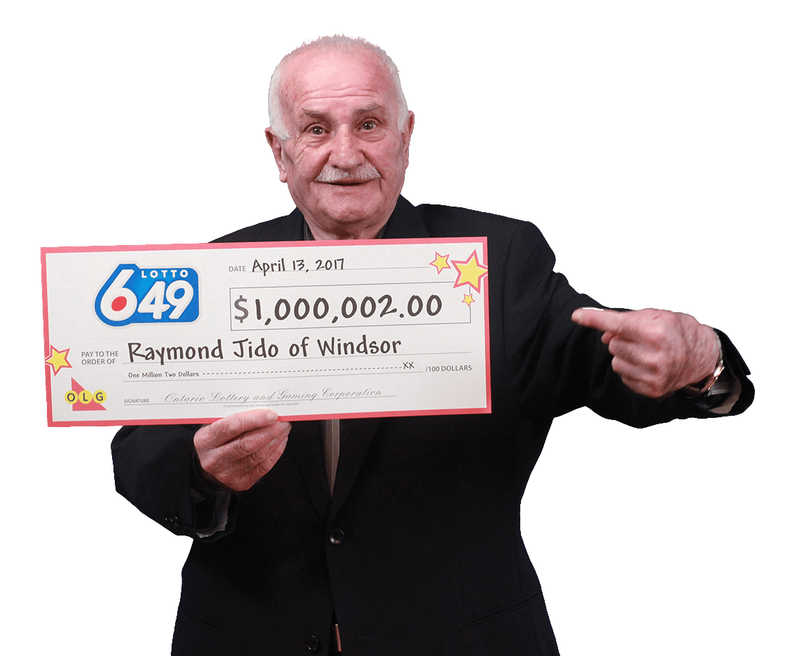 RECENT Lotto 6/49 WINNER - Raymond Jido