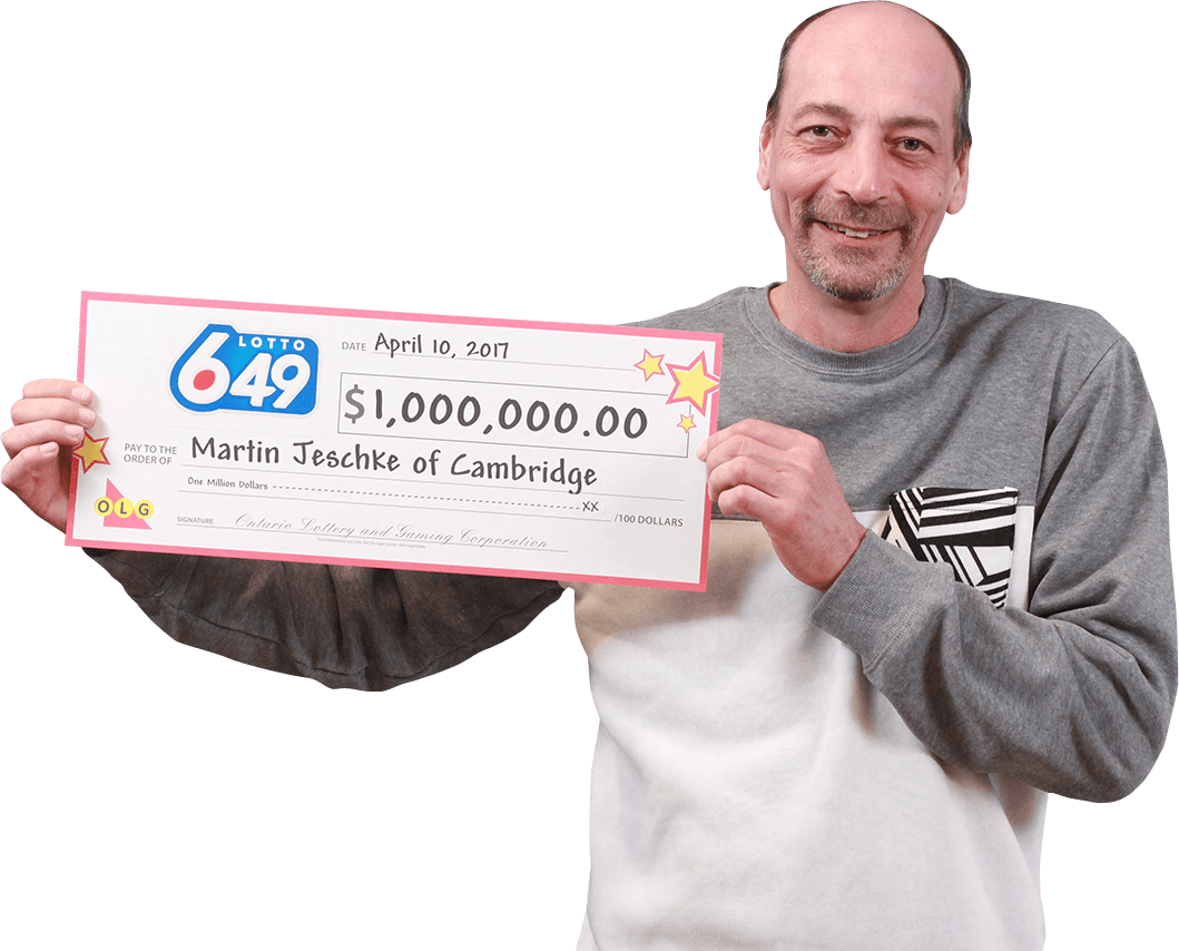 RECENT Lotto 6/49 WINNER - Martin Jeschke