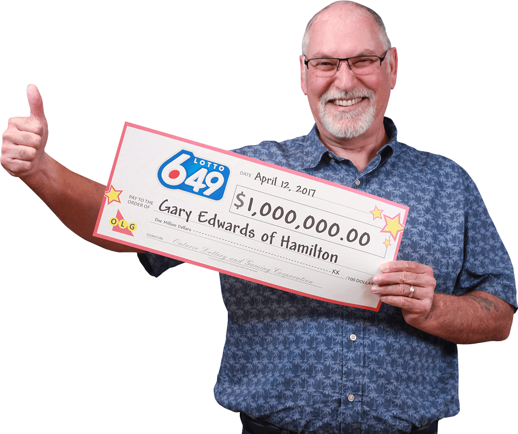 RECENT Lotto 6/49 WINNER - Gary Edwards