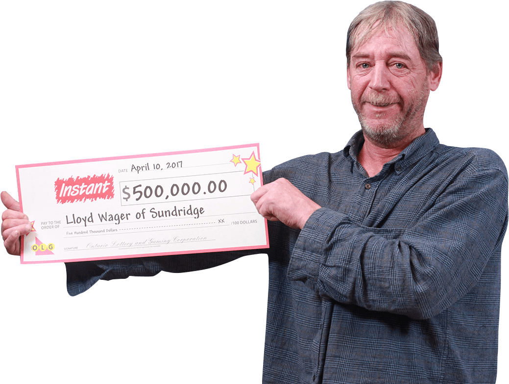 RECENT Instant WINNER - Lloyd Wager