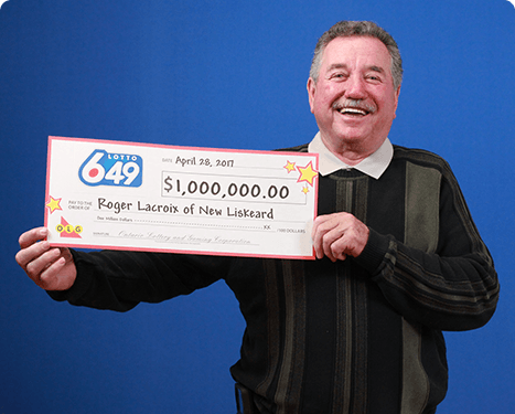 RECENT Lotto 6/49 WINNER - Roger LaCroix