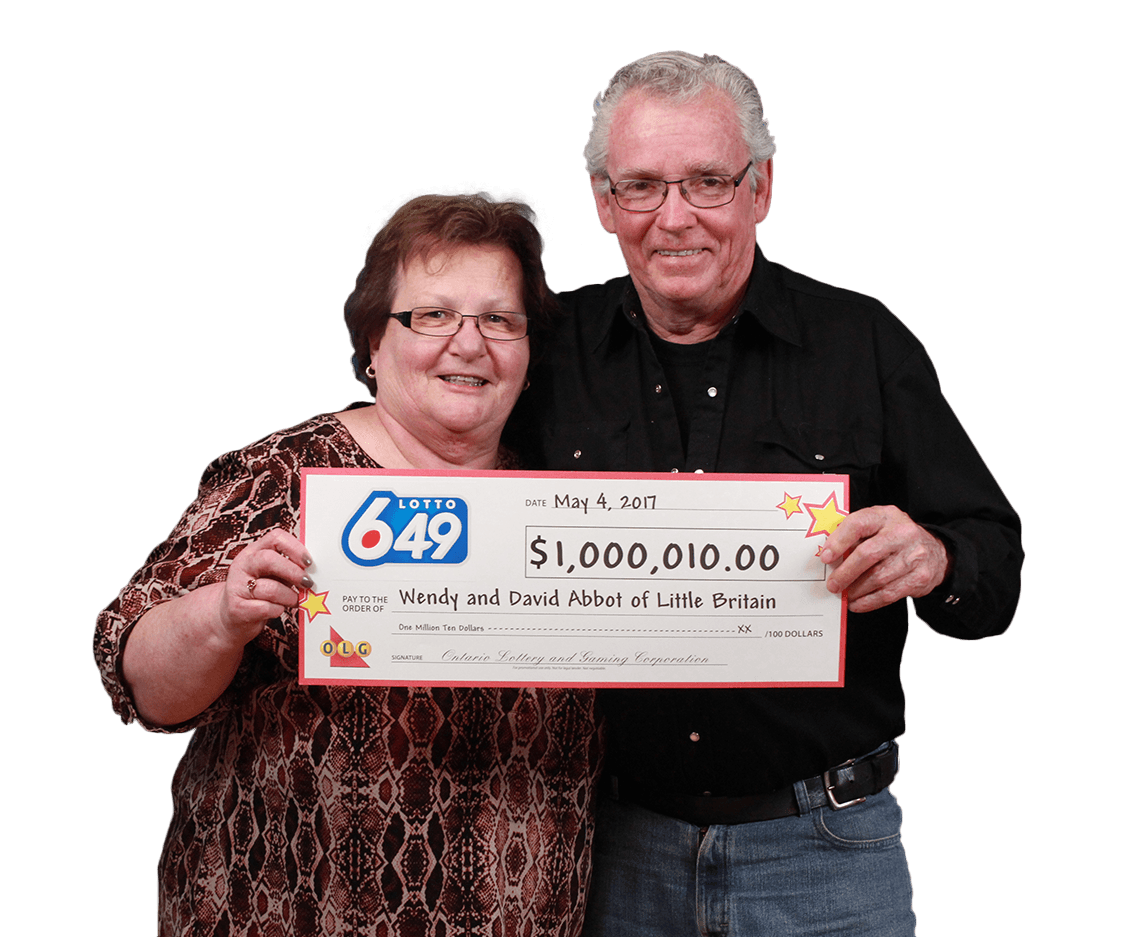 RECENT Lotto 6/49 WINNERS - Wendy & Dave Abbot
