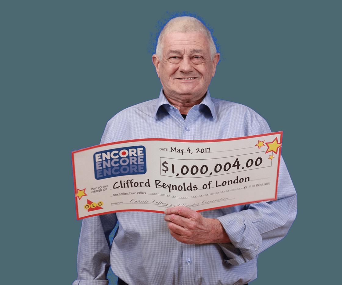 RECENT Encore WINNER - Clifford Reynolds
