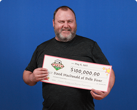 RECENT Poker Lotto WINNER - David MacDonald