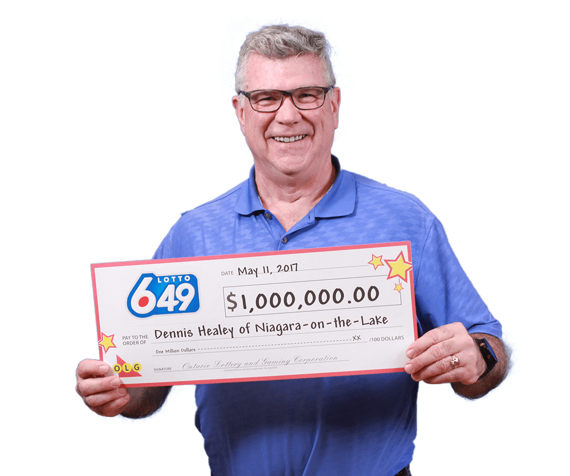 RECENT Lotto 6/49 WINNER - Dennis Healey