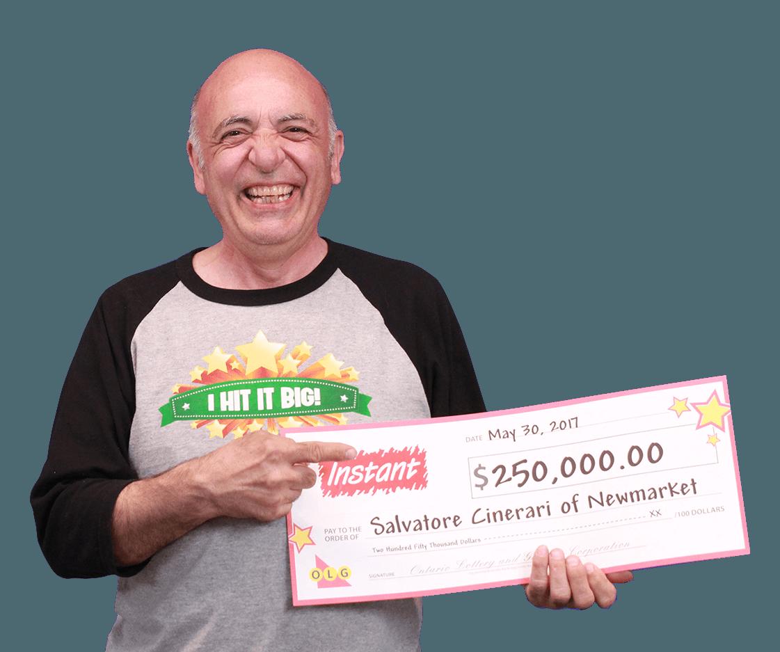 RECENT Instant WINNER - Salvatore Cinerari