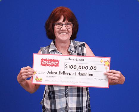 RECENT Instant WINNER - Debra Sellers