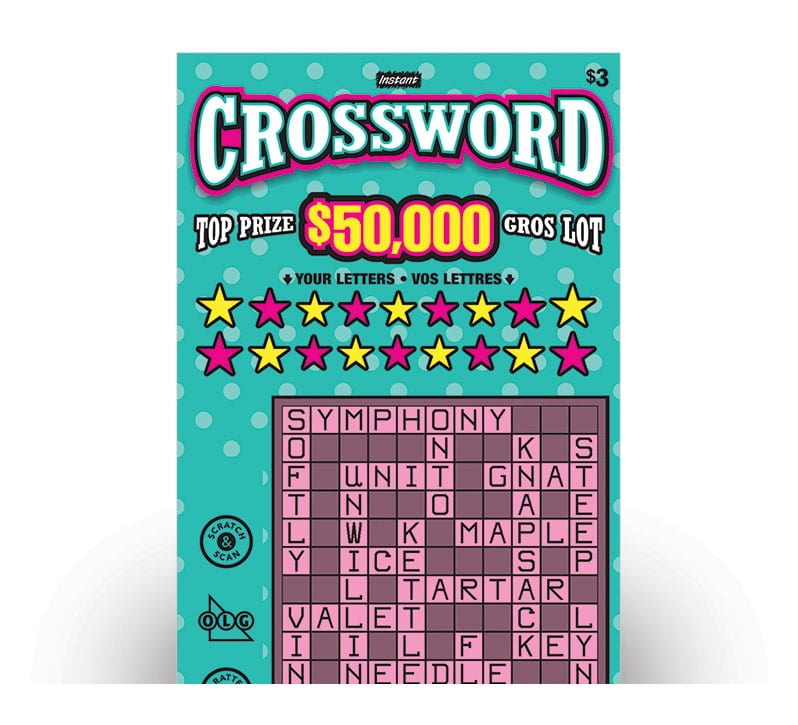 Billet de INSTANT CROSSWORD