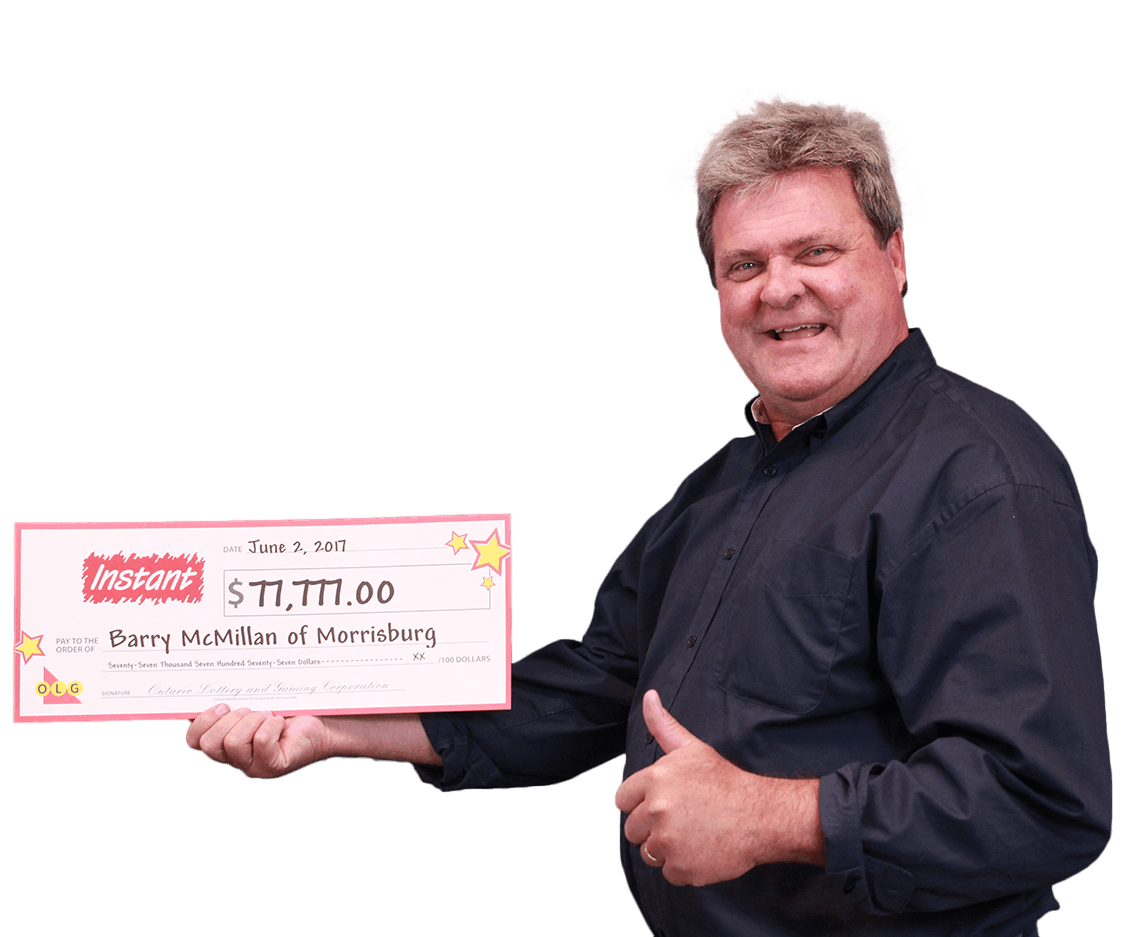 RECENT Instant WINNER - Barry McMillan