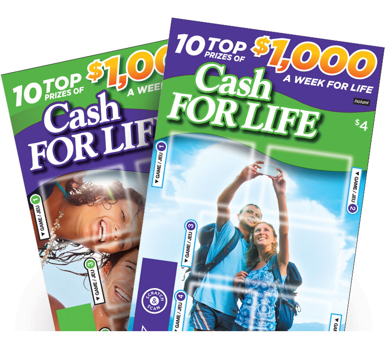 CASH FOR LIFE ticket