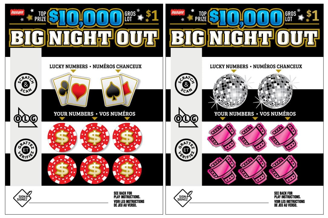 $10,000 Big Night Out tickets