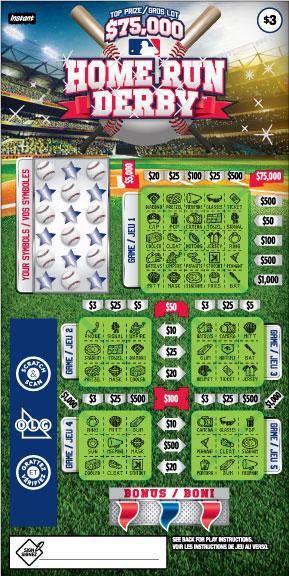 Home Run Derby ticket