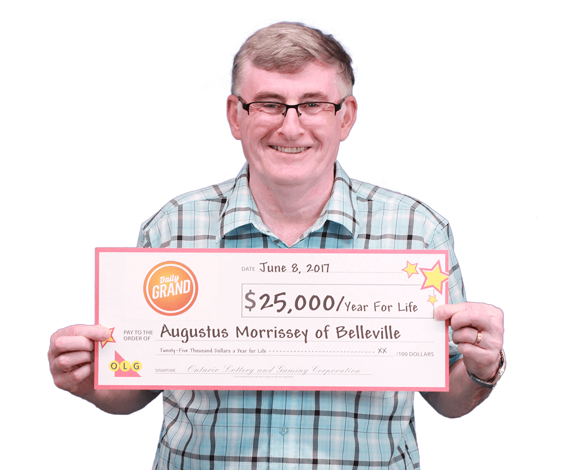 RECENT DAILY GRAND WINNER - Augustus
