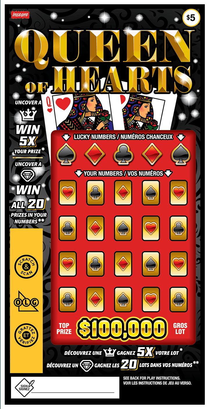 Queen of Hearts ticket