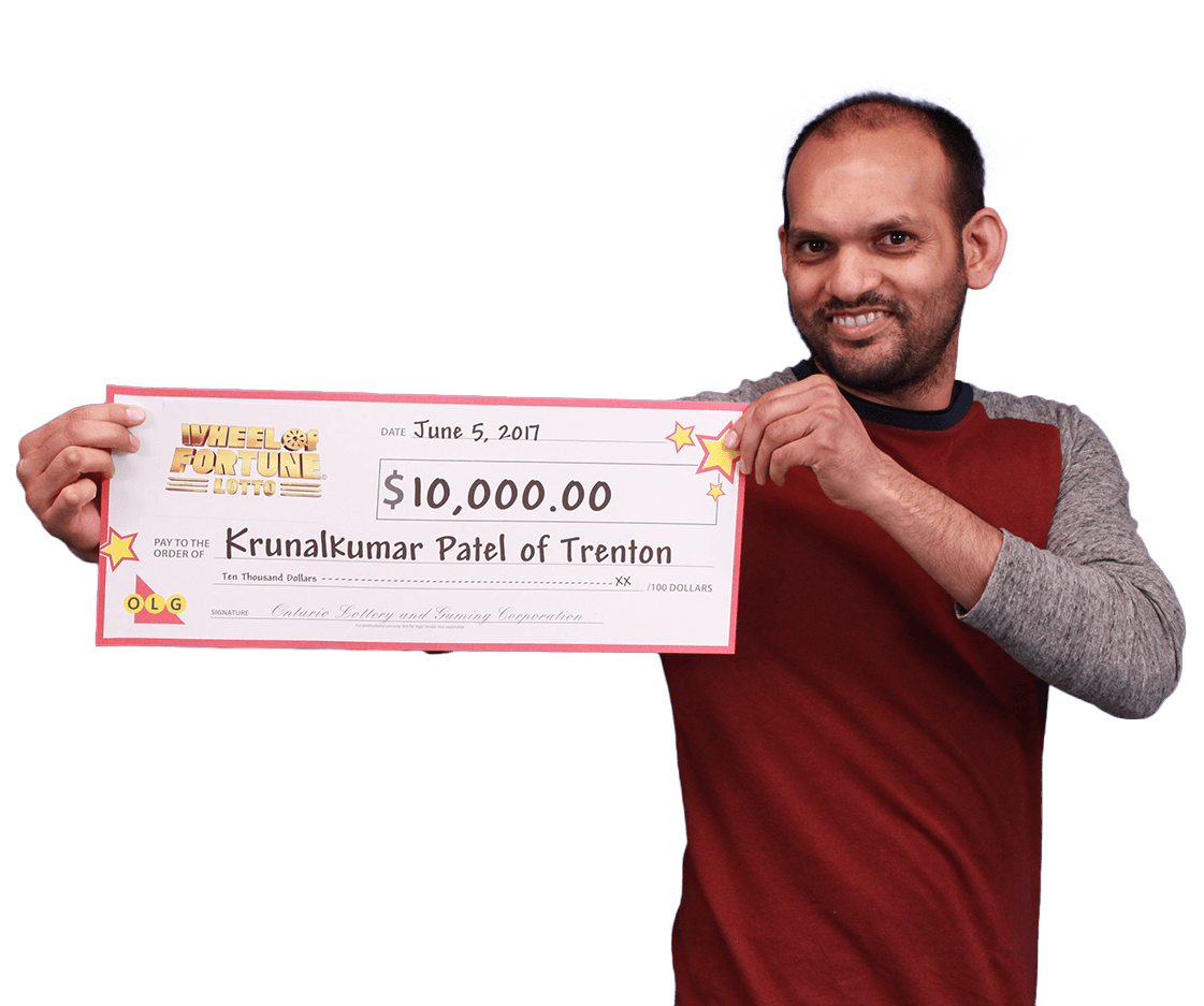 GAGNANT RÉCENT À Wheel of Fortune® Lotto - Krunalkumar