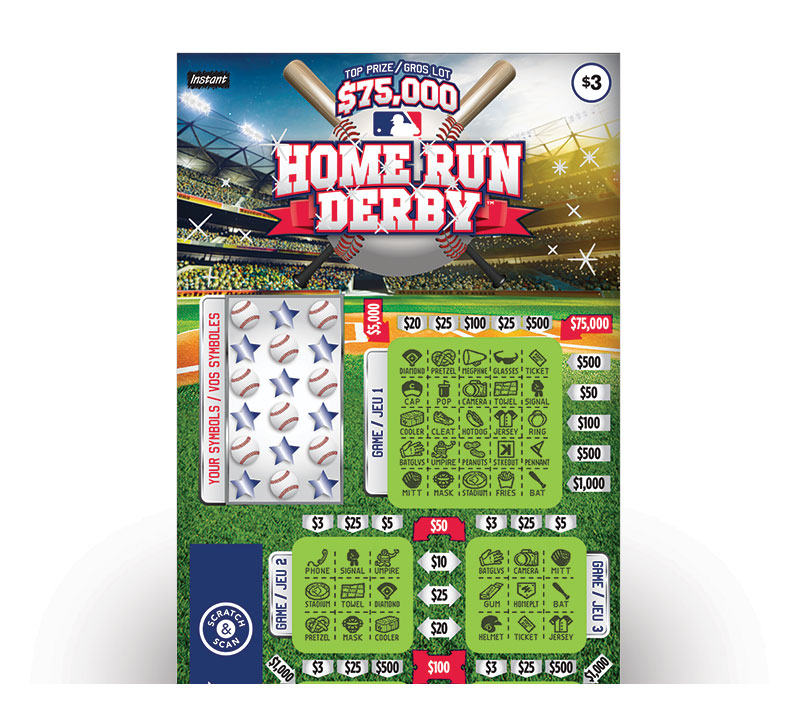 Home Run Derby Ticket