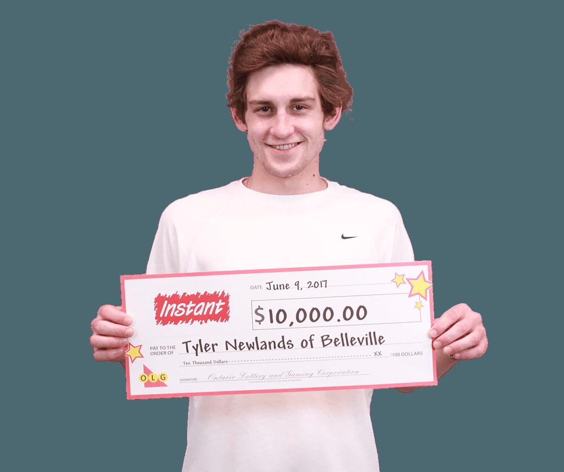 RECENT Instant WINNER - Tyler Newlands