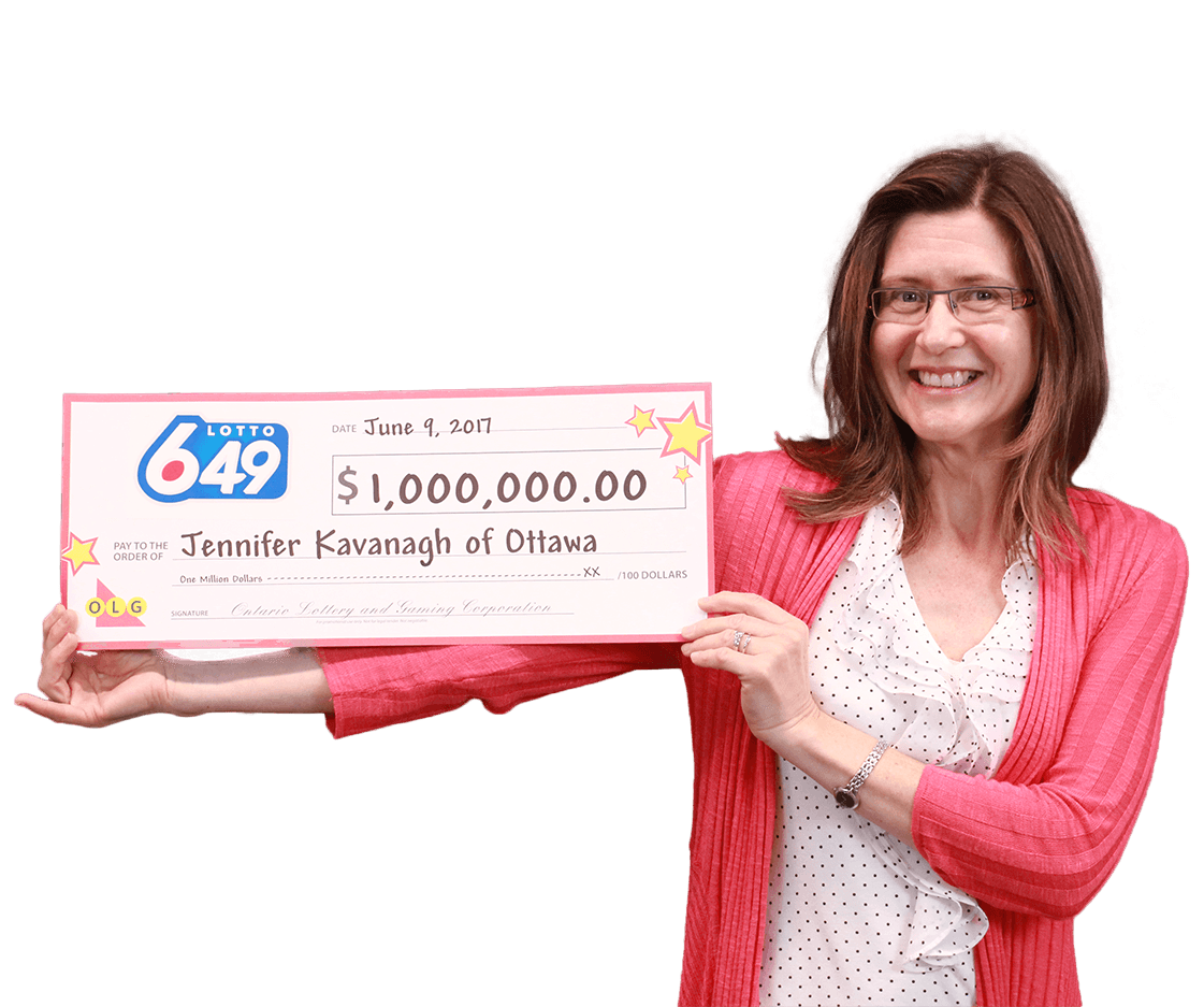 RECENT Lotto 6/49 WINNER - Jennifer Kavanagh