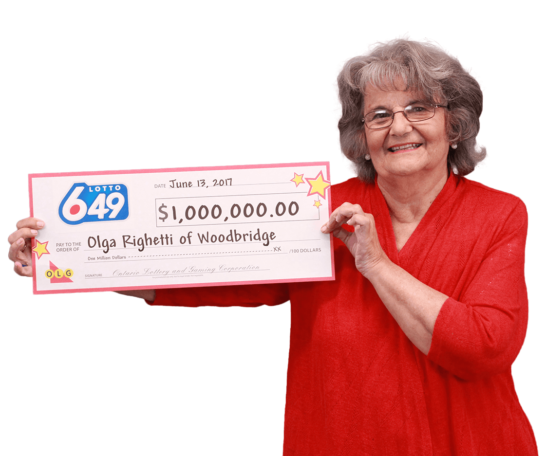 RECENT Lotto 6/49 WINNER - Olga Righetti