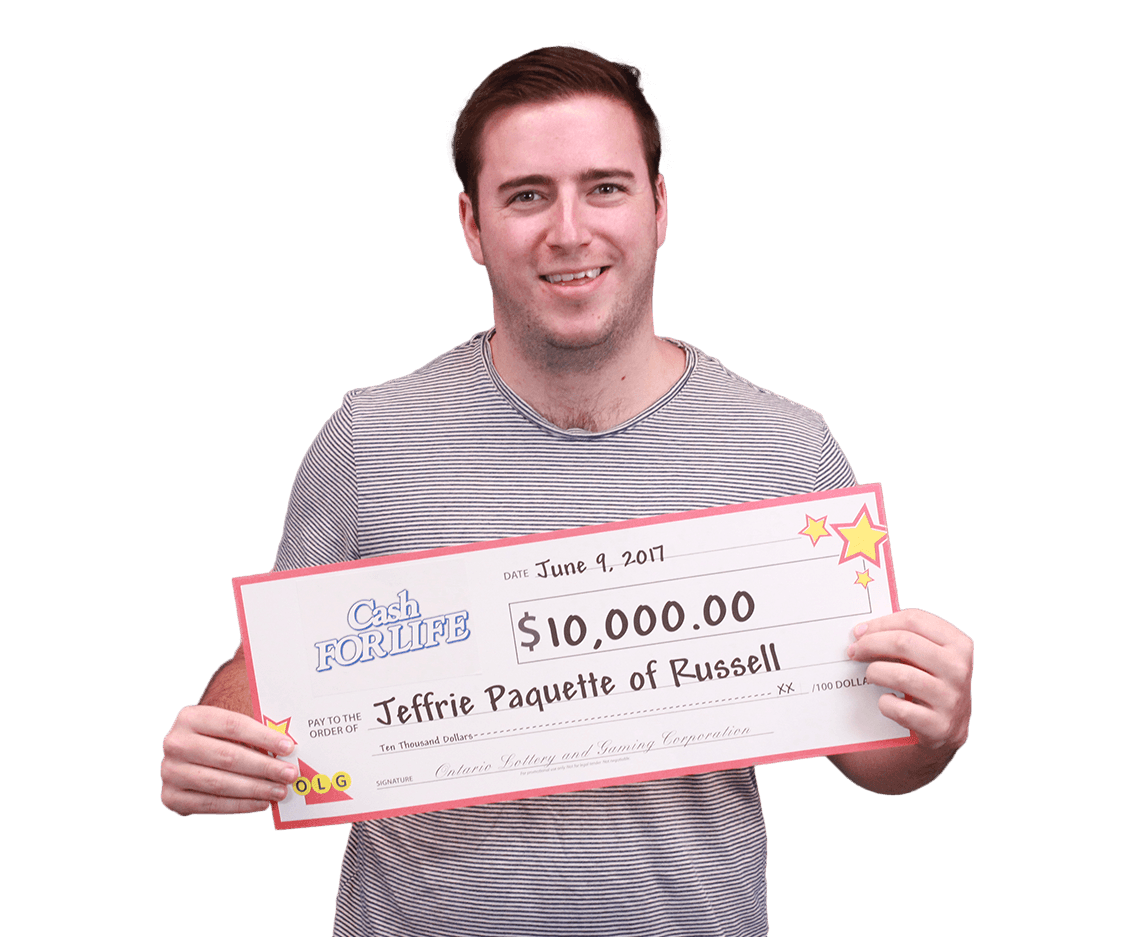 RECENT Instant WINNER - Jeffrie Pauqette