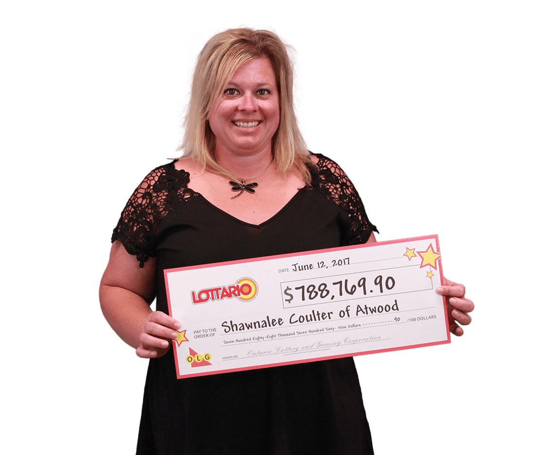 RECENT Lottario WINNER - Shawnalee Coulter