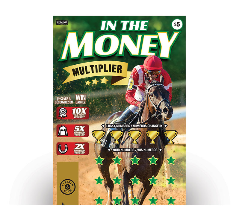 IN THE MONEY MULTIPLIER ticket