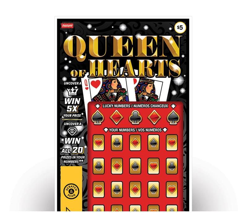 Billet de QUEEN OF HEARTS