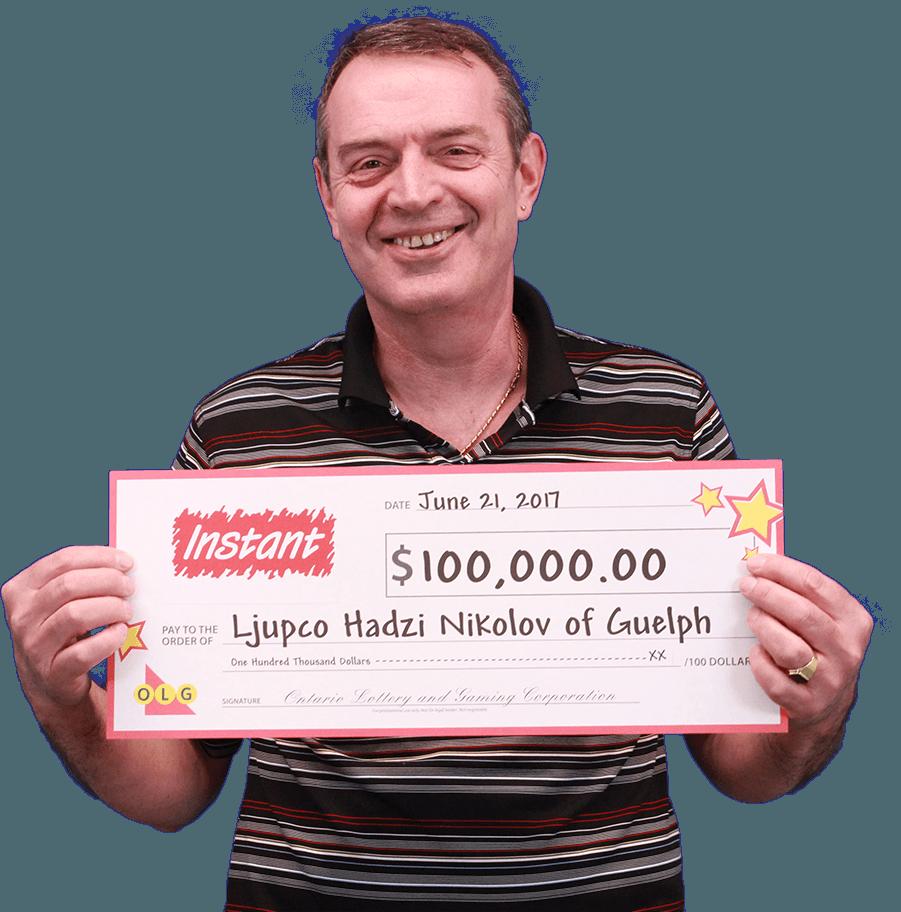 RECENT Instant WINNER - Ljupco Hadzi Nikolov