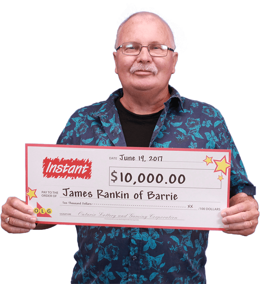 RECENT Instant WINNER - James Rankin