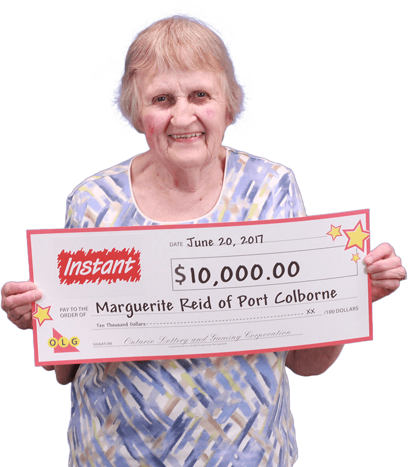 RECENT Instant WINNER - Marguerite Reid