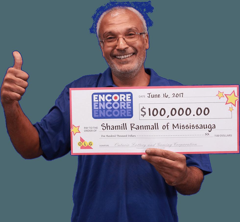 RECENT Encore WINNER - Shamill Ranmall