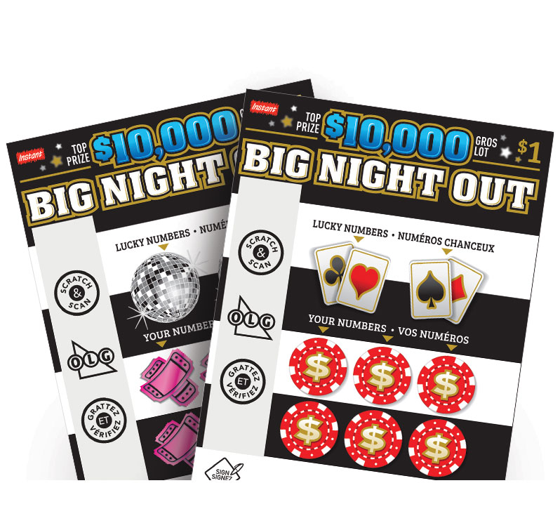 Billet de $10,000 BIG NIGHT OUT