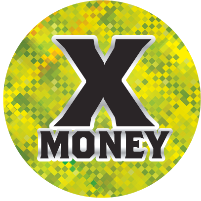 X Money logo