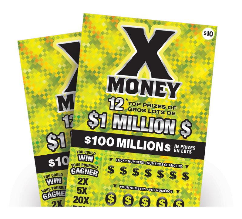 X Money tickets