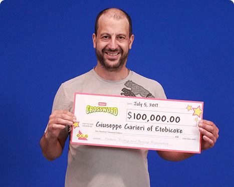 RECENT Instant WINNER - Giuseppe Garieri