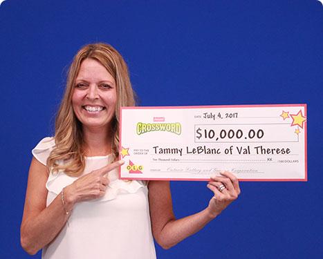 RECENT Instant WINNER - Tammy LeBlanc