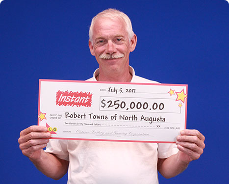 RECENT Instant WINNER - Robert Towns