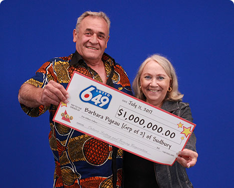 RECENT Lotto 6/49 WINNERS - Denis Bodson & Barbara pigeau