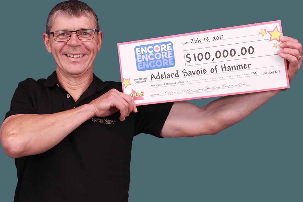 RECENT Encore WINNER - Adelard Savoie