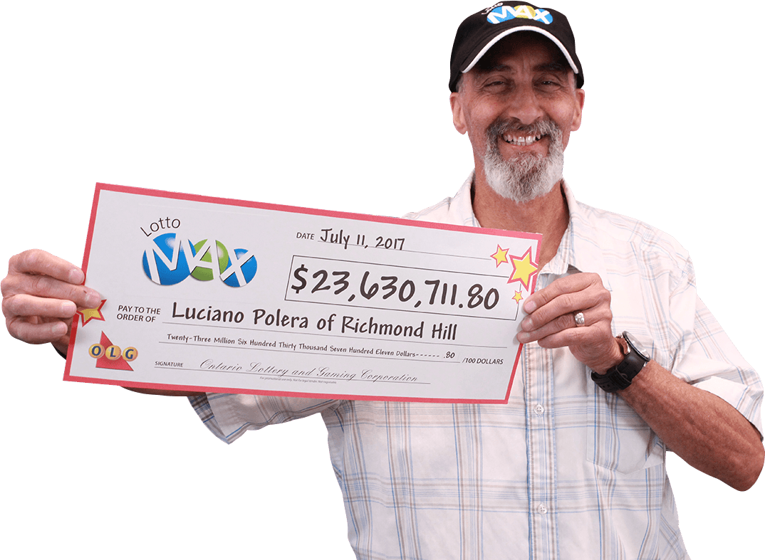 RECENT Lotto Max WINNER - Luciano Polera