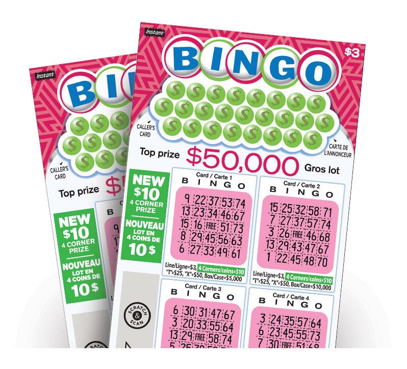 Instant Bingo 3023 tickets