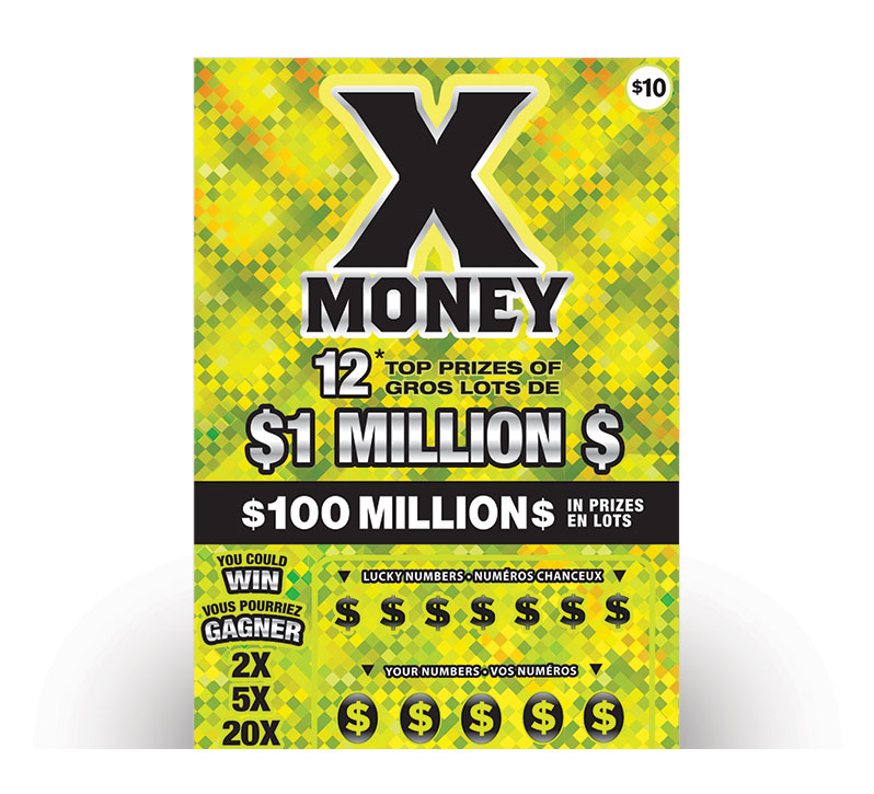 X MONEY Ticket