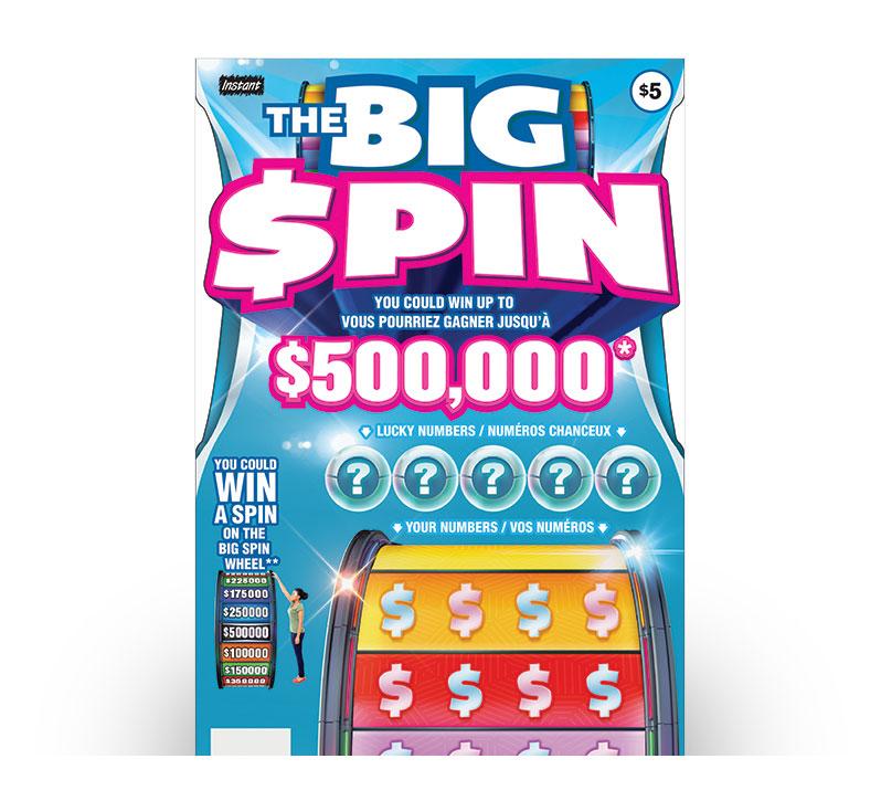 THE BIG SPIN logo