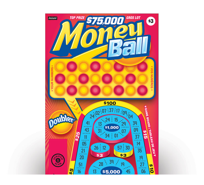 MONEY BALL Ticket