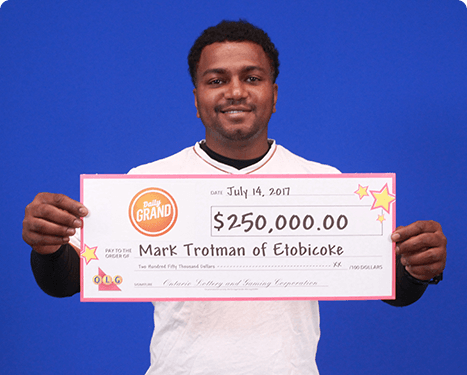 RECENT DAILY GRAND WINNER - Mark